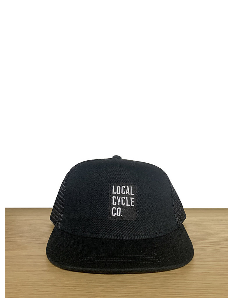 Local Cycle Co Local Cycle Co Hat Trucker Black