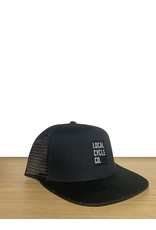 Huck The World Local Cycle Co Hat Trucker Black