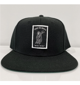Huck The World Huck The World Reaper Snapback Black
