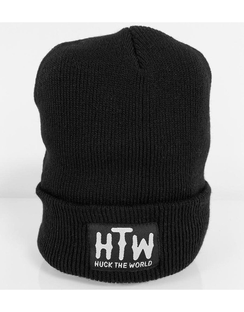 Huck The World Huck The World Logo Beanie