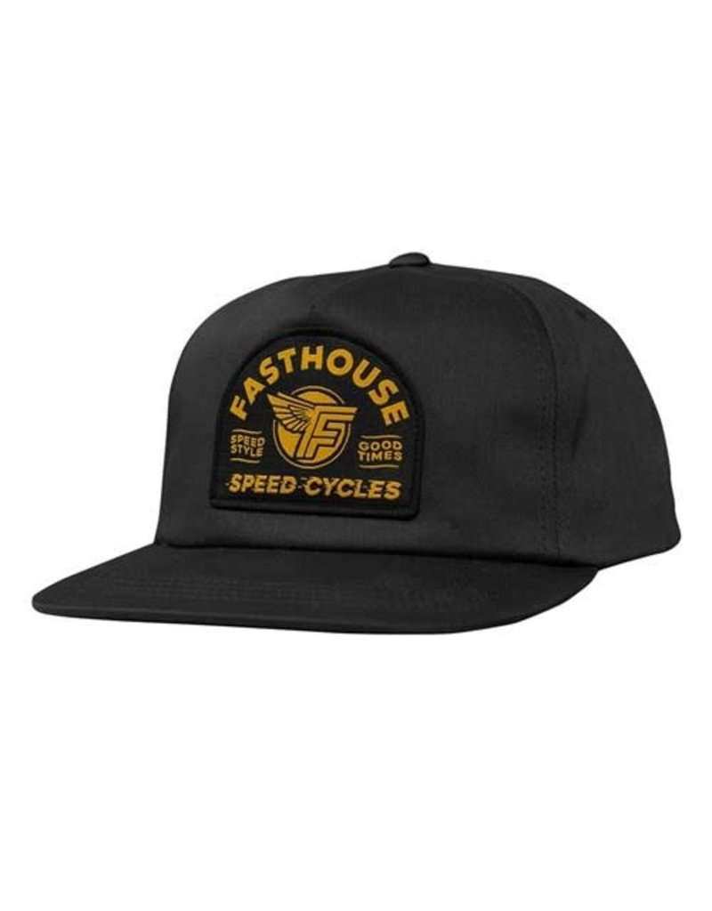 Fasthouse Fasthouse Hat Malan Black