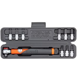 SuperB SuperB Torque Wrench Set 3-15Nm 1/4""