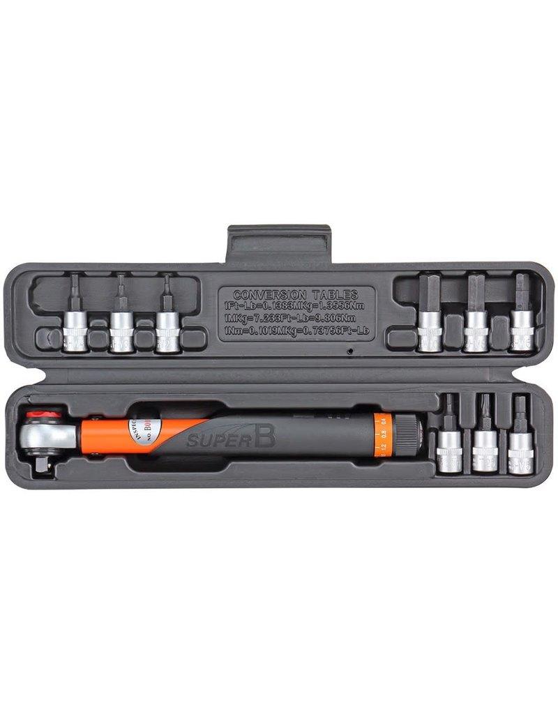 """SuperB SuperB Torque Wrench Set 3-15Nm 1/4"""""""