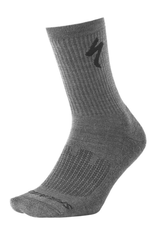Specialized Specialized Merino Mid Weight Tall Sock Charcoal