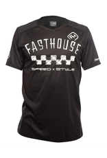 Fasthouse Fasthouse Alloy SS Nelson Jersey Black