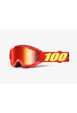 100% 100% Accuri Goggle Youth Saarinen Mirror Red Lens