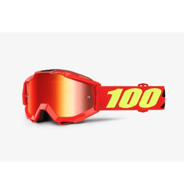 100% 100% Goggle Accuri Youth Saarinen Mirror Red Lens