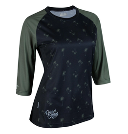 Dharco Dharco Jersey Ladies 3/4 Sleeve Camo Palm