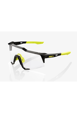 100% 100% Sunglasses Speedcraft Photochromic Lens Gloss Black