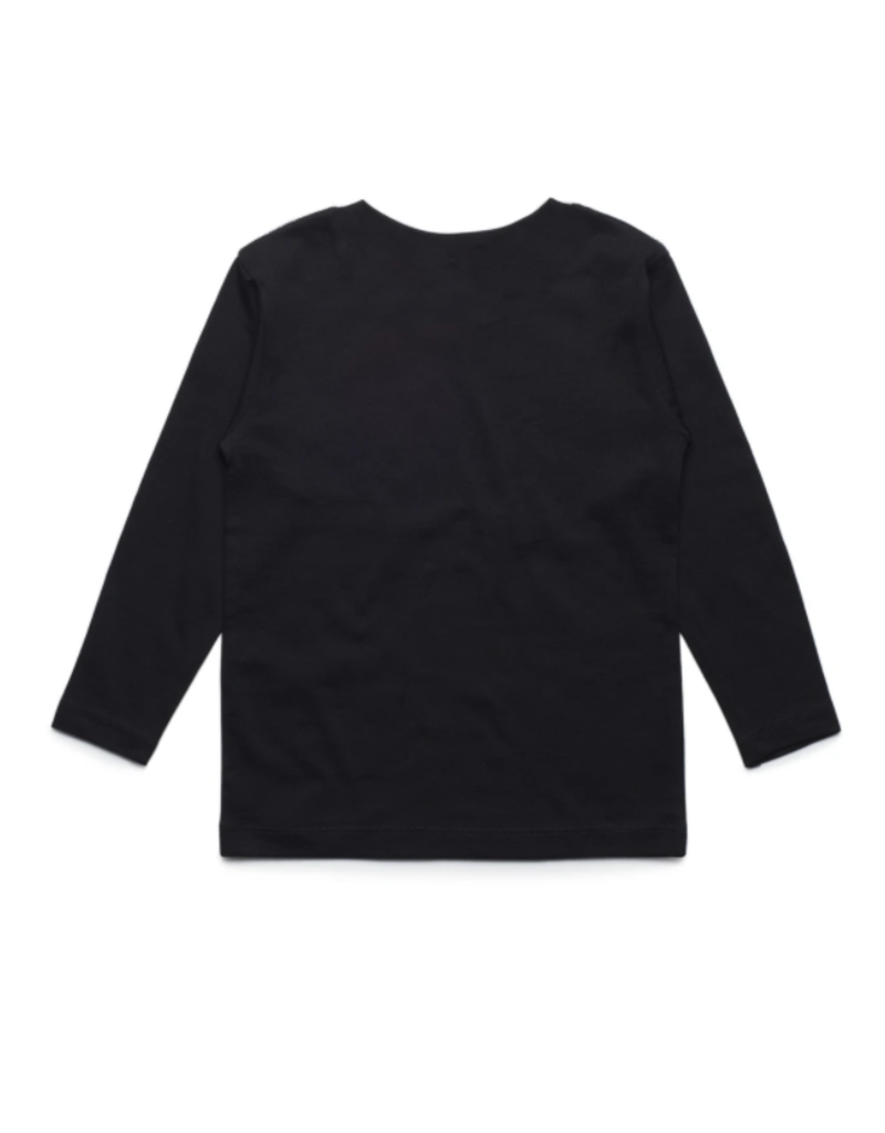 Huck The World Huck The World Lords Youth L/S Black