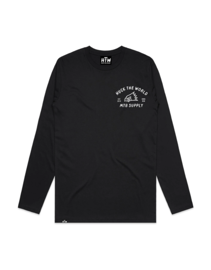 Huck The World Huck The World MTB Supply L/S Tech Tee Black