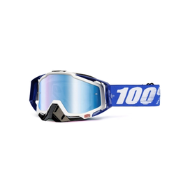 100% 100% Goggle Racecraft Cobalt Blue/Mirror Blue
