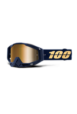 100% 100% Goggle Racecraft Bakken/Mirror True Gold