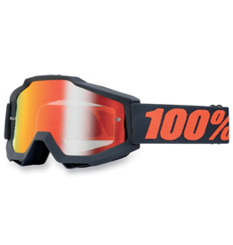 100% 100% Goggle Accuri Gunmetal/Red Mirror