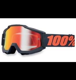 100% 100% Goggle Accuri Gunmetal/Red Mirror