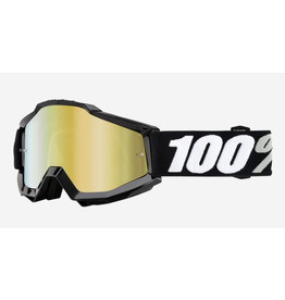 100% 100% Goggle Accuri Tornado Gold Mirror