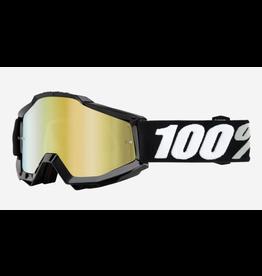 100% 100% Goggle Accuri Tornado Gold Mirror