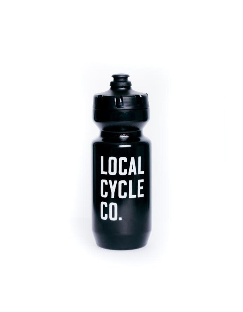 Local Cycle Co Local Cycle Co Water Bottle Purist Black 650ml