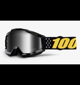 100% 100% Goggle Accuri Pistol/Silver Mirror