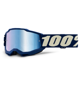 100% 100% Goggle Youth Accuri 2 Deepmarine / Blue Mirror