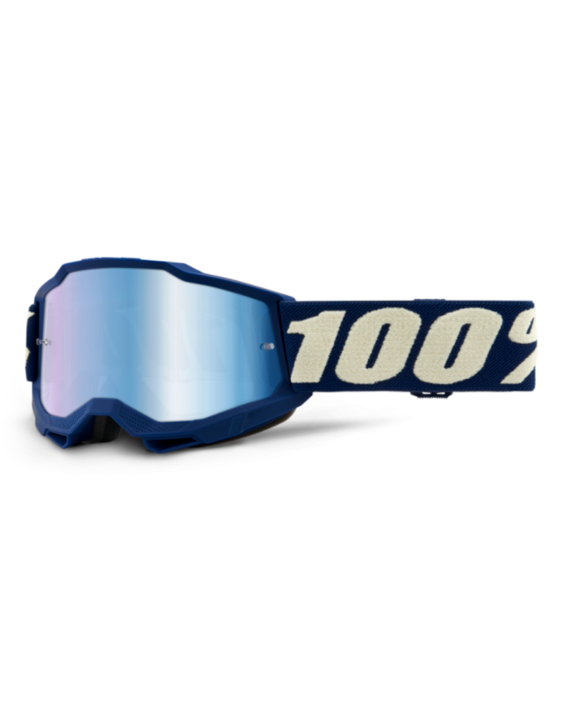 100% 100% Goggle Youth Accuri 2 Deepmarine / Blue Mirror