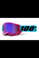 100% 100% Goggle Accuri 2 Lefleur / Mirror Red/Blue