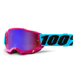 100% 100% Goggle Accuri 2 Lefleur / Mirror Red/Blue