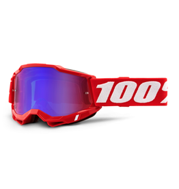 100% 100% Goggle Accuri 2 Red / Mirror Red/Blue