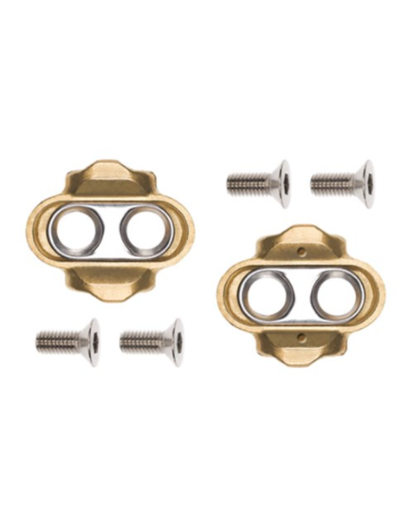 Crankbrothers Standard Cleat 6 Degree Float Gold