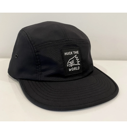 Huck The World Huck The World Eagle Nylon 5 Panel Black