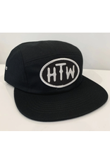 Huck The World Huck The World HTW Oval 5 Panel Black