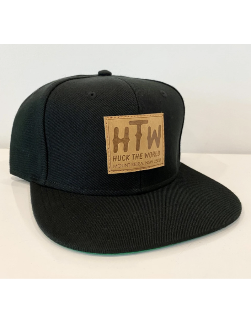Huck The World Huck The World Keira Patch Snap Back Black