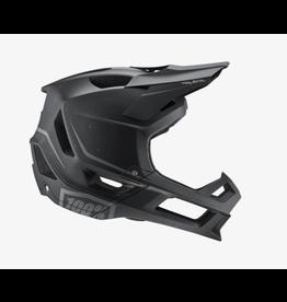 100% 100% Helmet Trajecta Matte Black