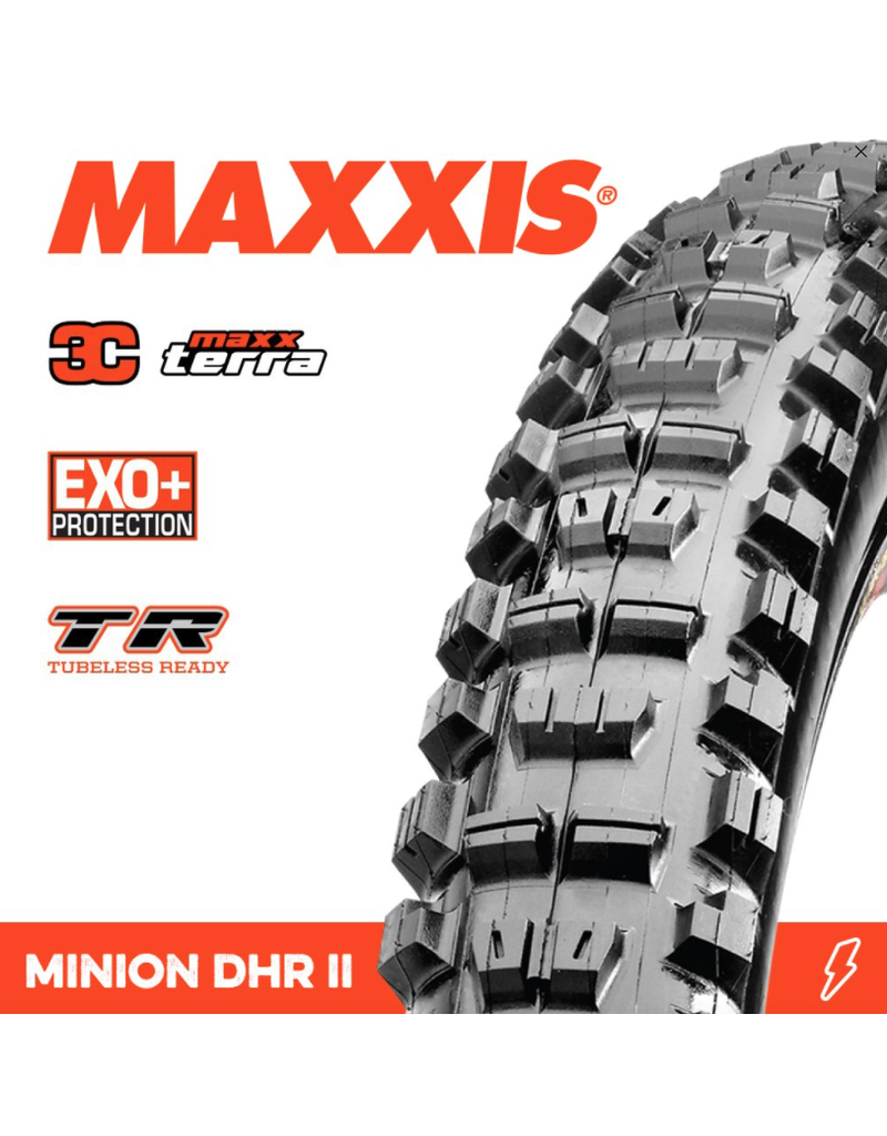 Maxxis Maxxis Minion DHR II 27.5 x 2.4 WT Exo+ 3C Terra