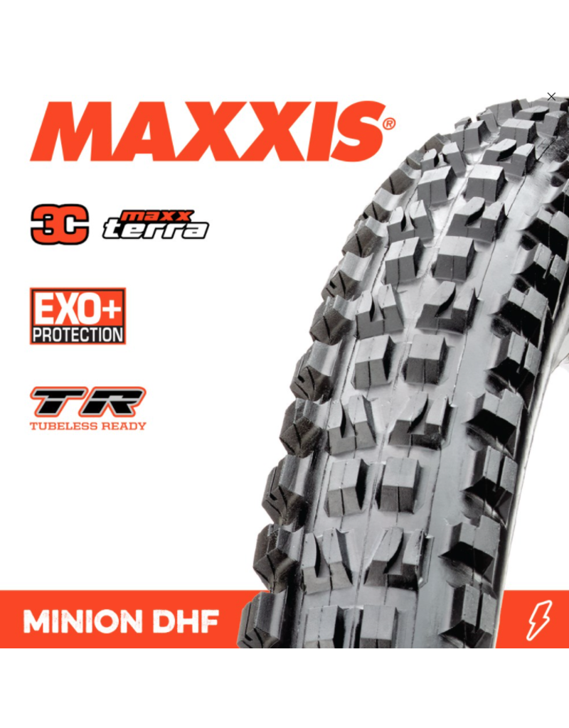 Maxxis Maxxis Minion DHF 27.5 x 2.60 3C Terra Exo+