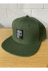 Local Cycle Co Local Cycle Co Hat Snapback Green