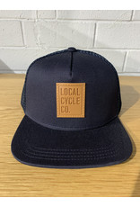 Local Cycle Co Local Cycle Co Leather Patch Trucker Navy