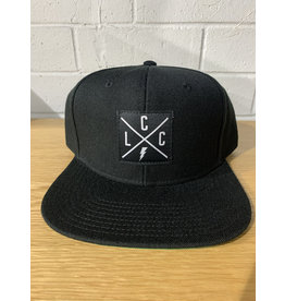 Local Cycle Co Local Cycle Co Lightning LCC Snap Back Black