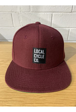 Local Cycle Co Local Cycle Co Hat Snapback Maroon