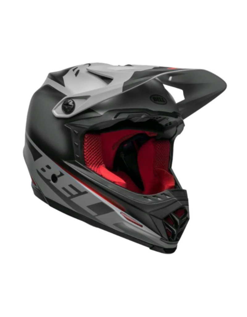 Bell Bell Full-9 Fusion Mips Black/Grey/Crimson Large