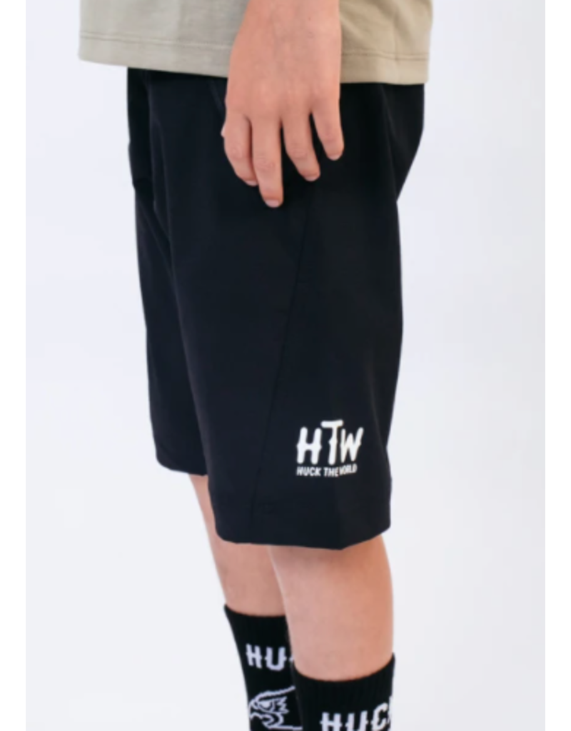 Huck The World Huck The World Youth Short 2.0 Black