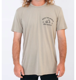 Huck The World Huck The World Gong MTB Tech Tee Dusty Olive