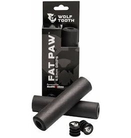 Wolf Tooth Wolf Tooth Fat Paw Grips  Black