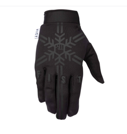 Fist Fist Frosty Fingers Snowflake Gloves Black