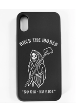 Huck The World Huck The World Iphone Case Dig 6,7,8 Black