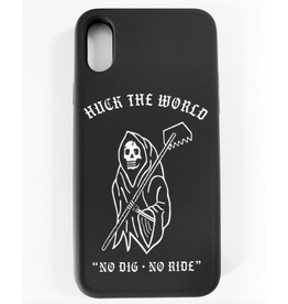 Huck The World Huck The World Phone Case 'No Dig No Ride' iPhone Xs Max