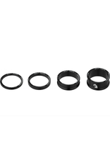 Wolf Tooth Wolf Tooth Precision Headset Spacer Kit Black
