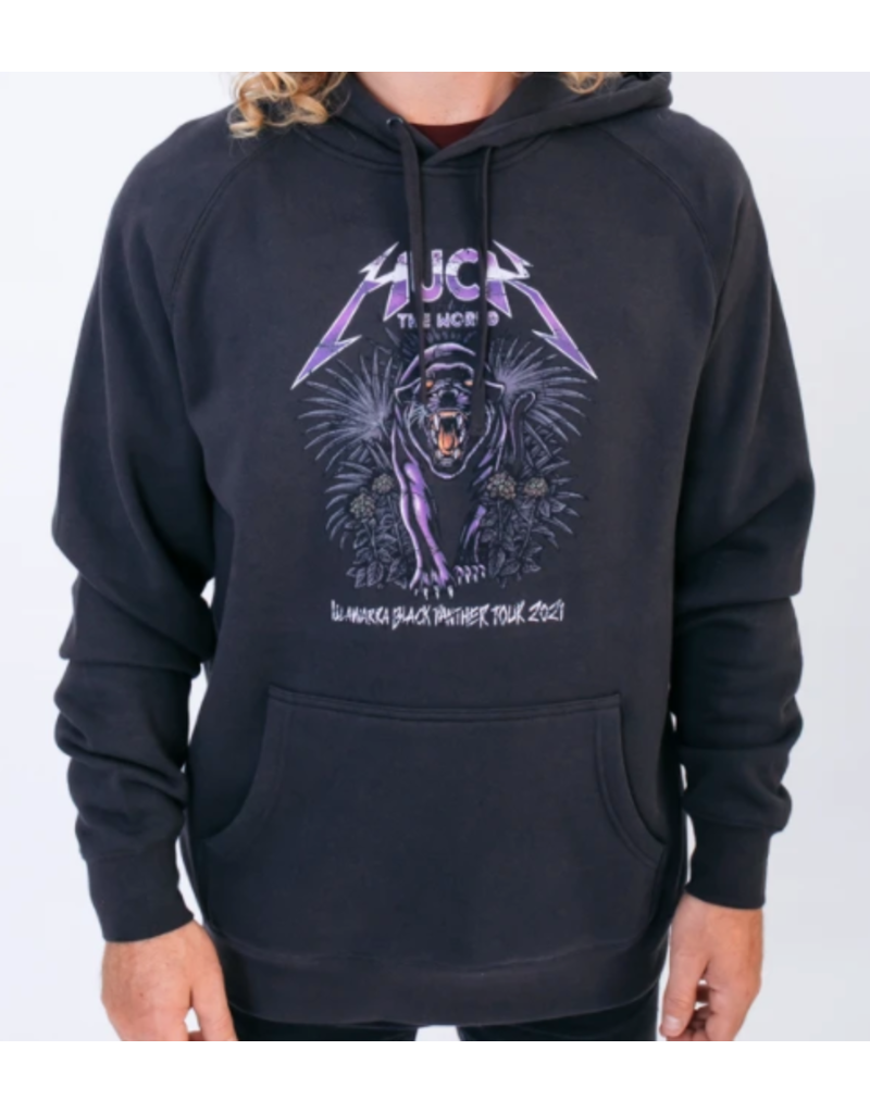 Huck The World Huck The World Panther Hoodie Black