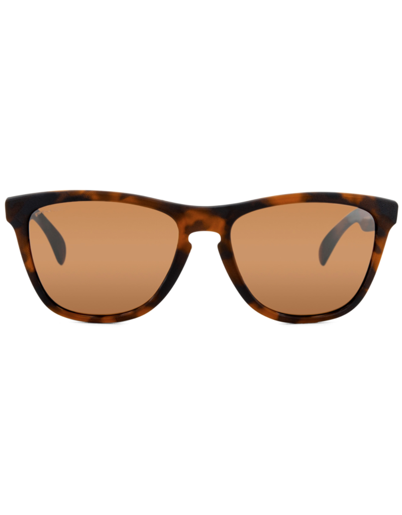 Oakley Oakley Sunglasses Frogskins Matte Brown Tortoise / Prizm Tungsten Lens