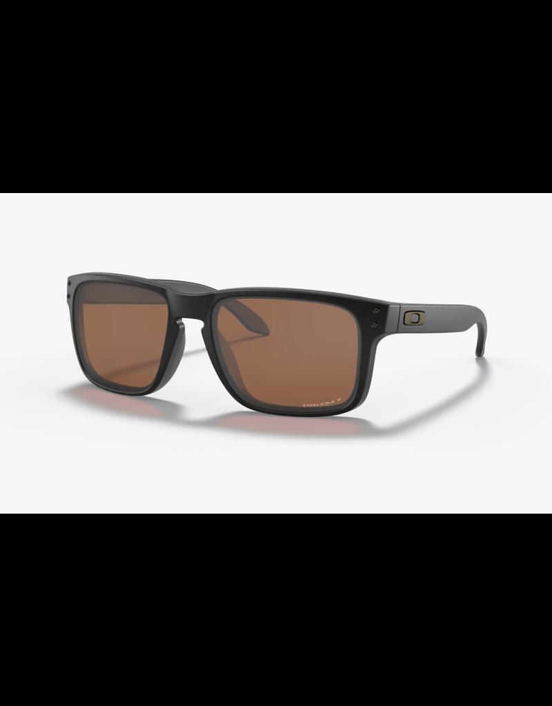 Oakley Oakley Sunglasses Holbrook Matte Black / Prizm Tungsten Polarized Lens